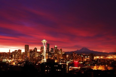 One of Seattle's Amazing Sunsets